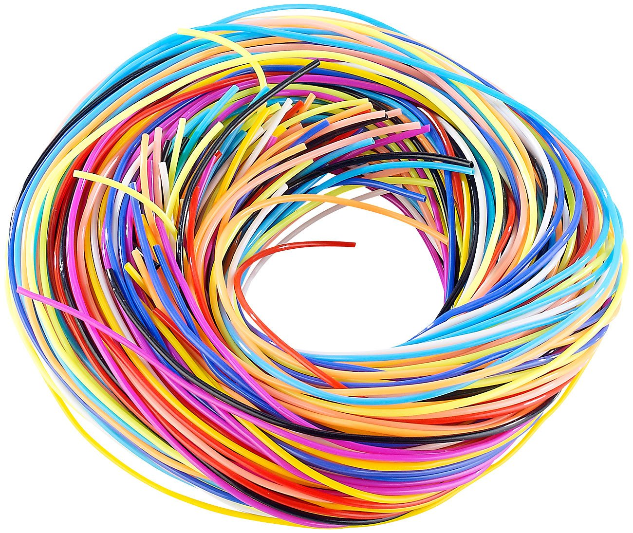 Playtastic Scoubidou Craft Set with 96x Knotting Bands in 10 Colours OfficeCentre