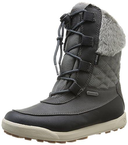 Hi Tec Dubois 200 i WP Womens Winter / Snow Boots - Charcoal