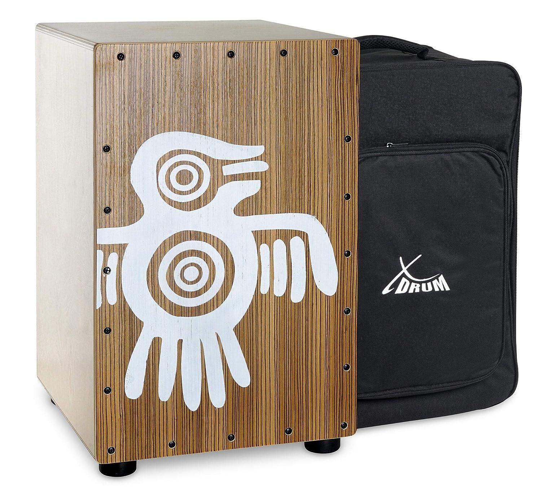 Cajón Peruana en madera de zebrano
