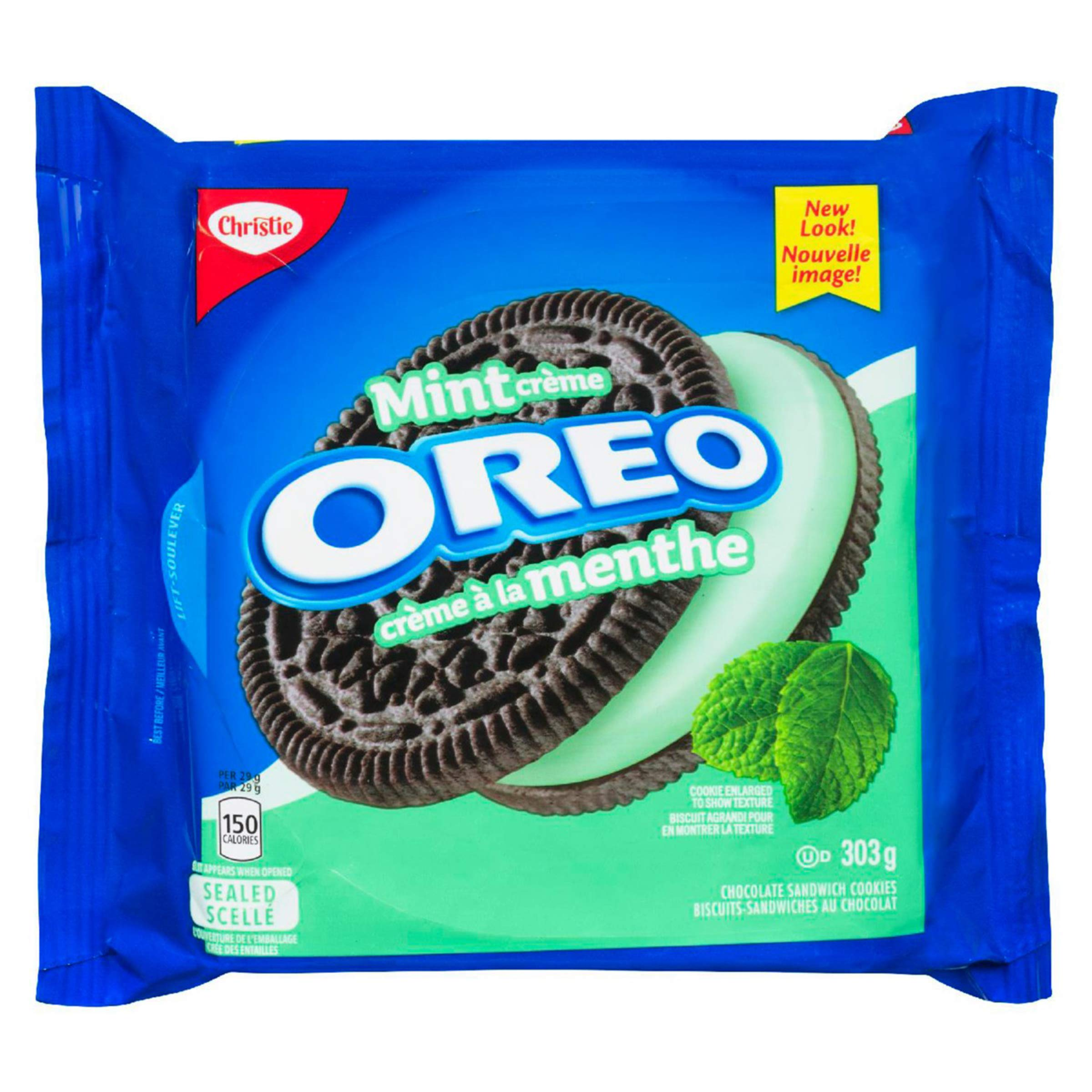 Oreo Mint Creme Chocolate Sandwich Cookies 303g {Imported from Canada}