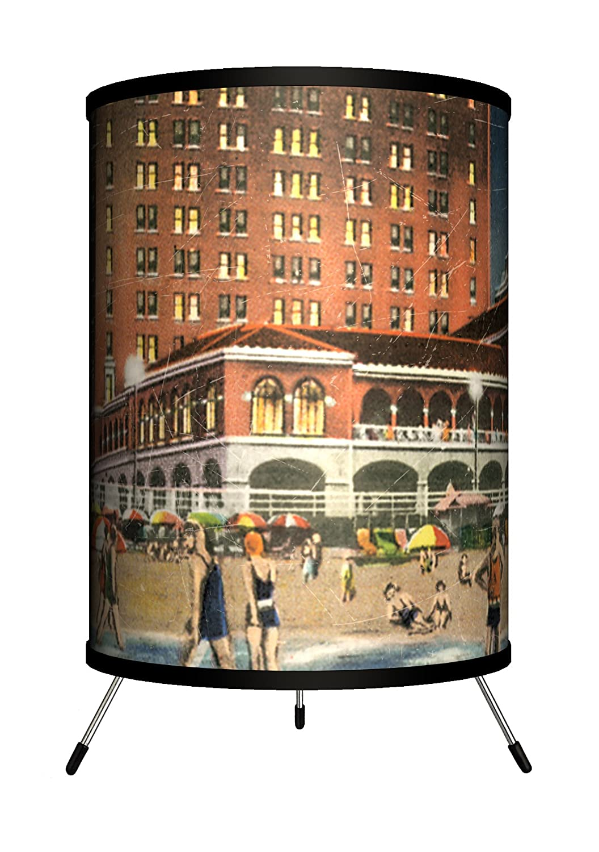 Haddon Hall Postcard Tripod Lamp 14 x 8 x 8 Lamp-In-A-Box TRI-TRV-HADDO Travel