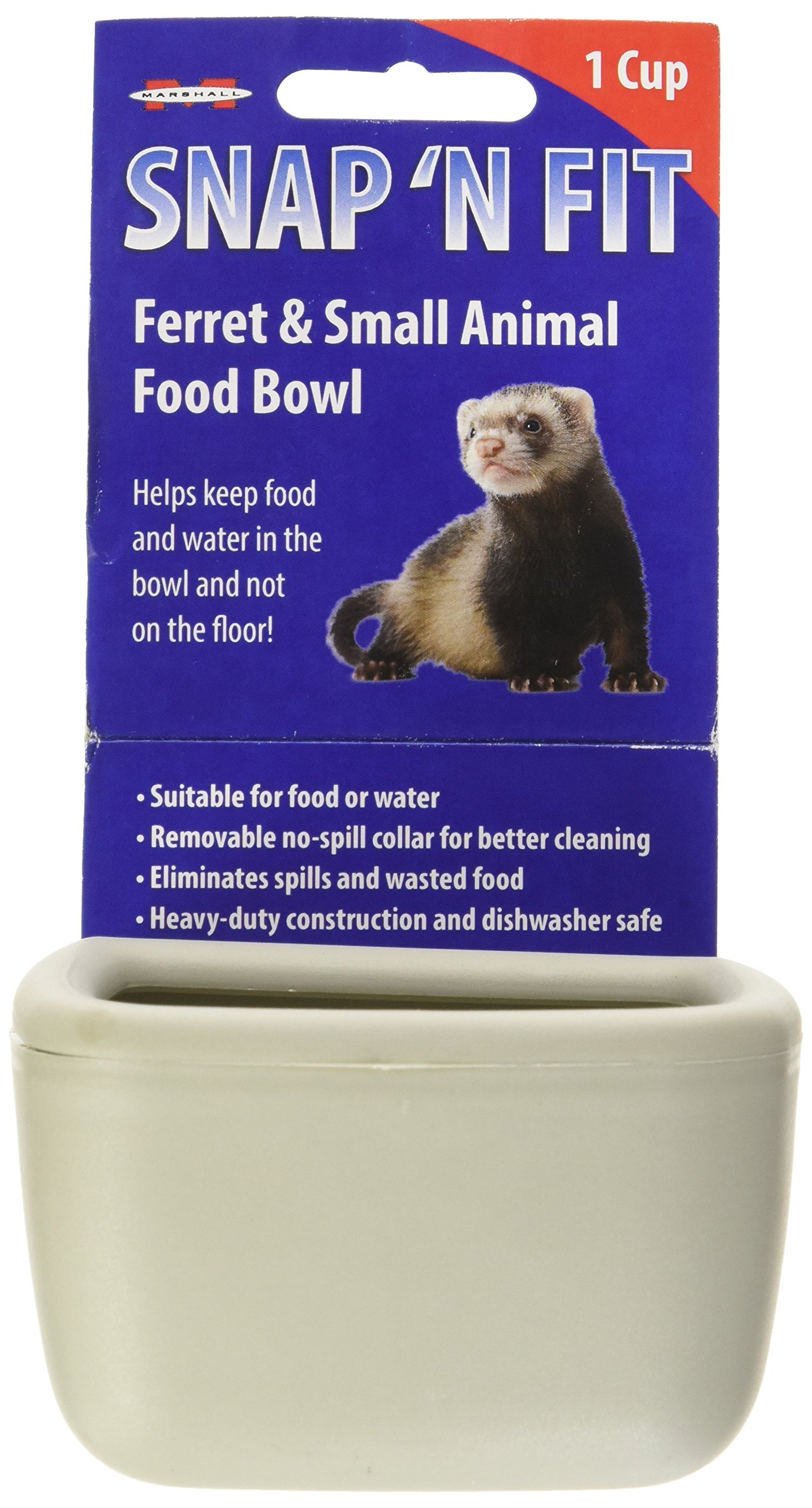 Marshall Snap'N Fit Animal Bowl, Small, Holds 1-Cup by Marshall (Image #2)