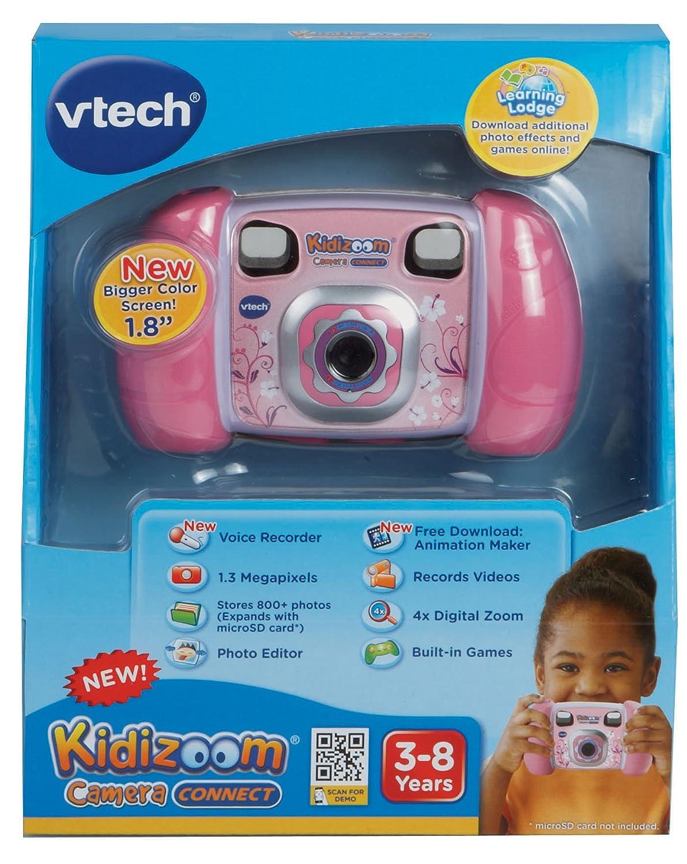 B00CMNX7W6 VTech Kidizoom Camera Connect, Pink 819-5NTriQL