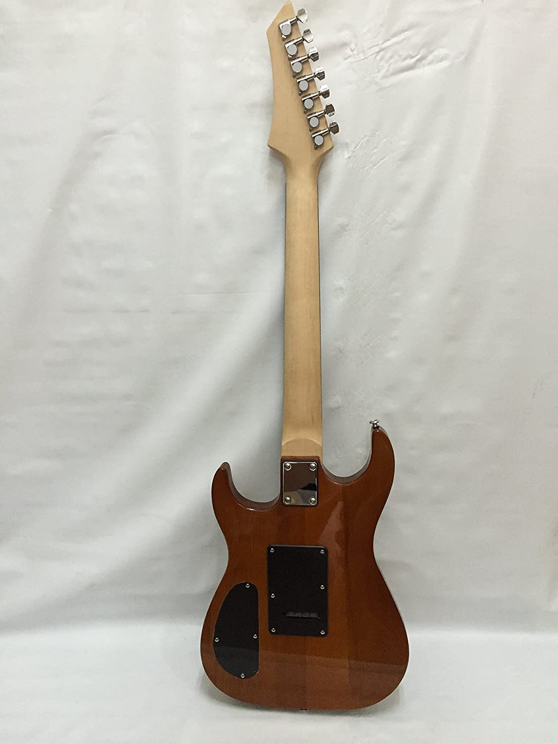 7 String Guitar with Beautiful Ash Top and 3 Piece Ash Body
