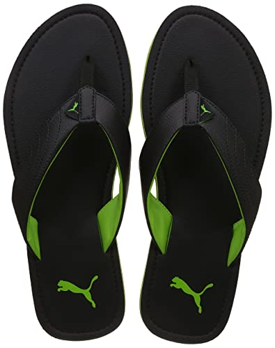 Puma Men s Ketava Iii Dp Black and Green Gecko Hawaii Thong Sandals - 6 UK  034db1d12