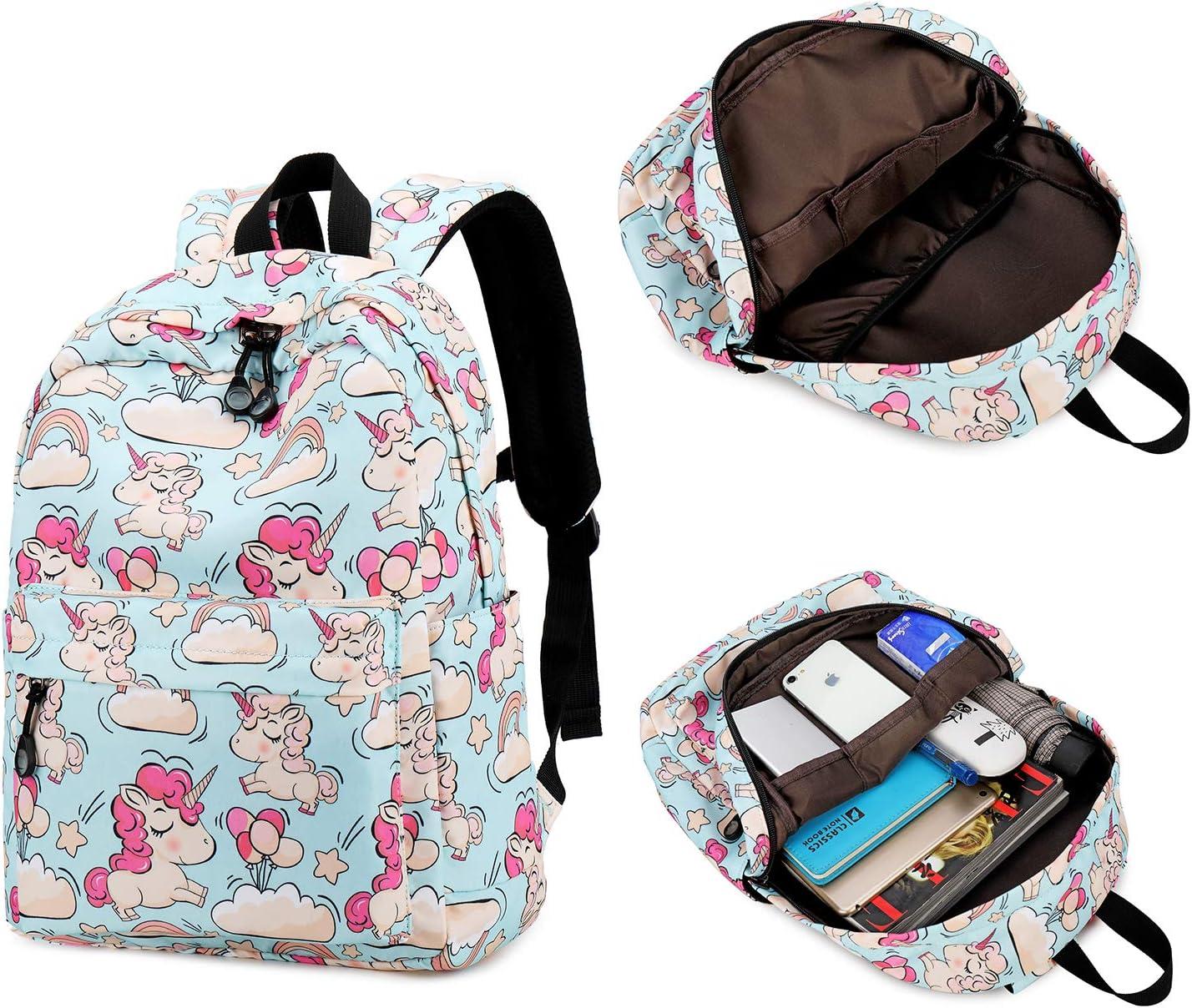 Kids Preschool Backpack Girls Boys Kindergarten Bookbag Toddler Backpacks Water Resistant Dinosaur-Black 0032-1