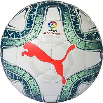 PUMA LaLiga 1 Mini Balón de Fútbol, Adultos Unisex, White-Green ...