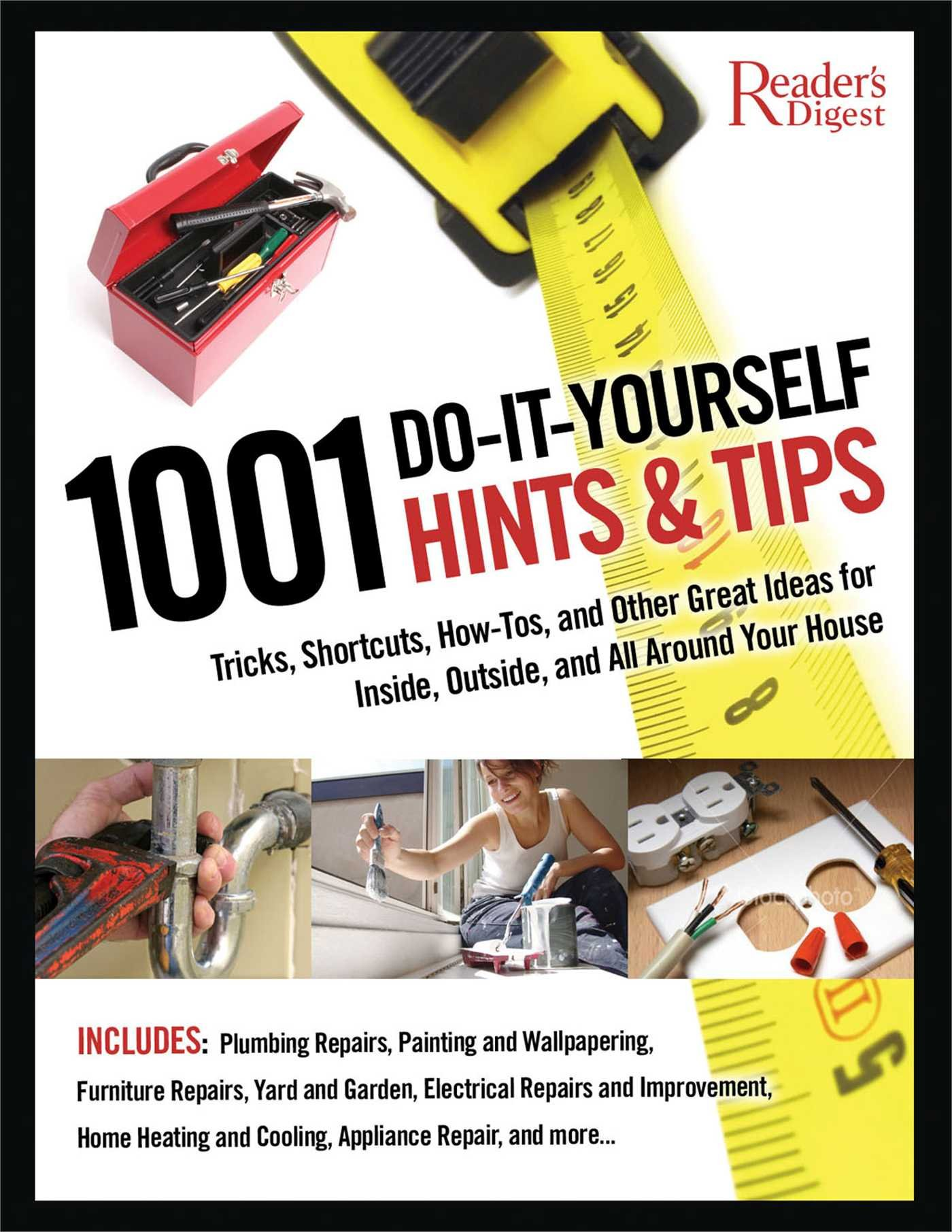 Buy 1001 Do It Yourself Hints And Tips Tricks Shortcuts How Tos