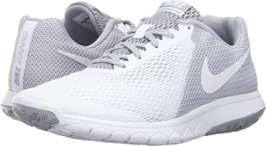 Nike Wmns Flex Experience RN 5, Zapatillas de Running para Mujer, Blanco (Blanco (White/White-Wolf Grey), 43 EU: Amazon.es: Zapatos y complementos