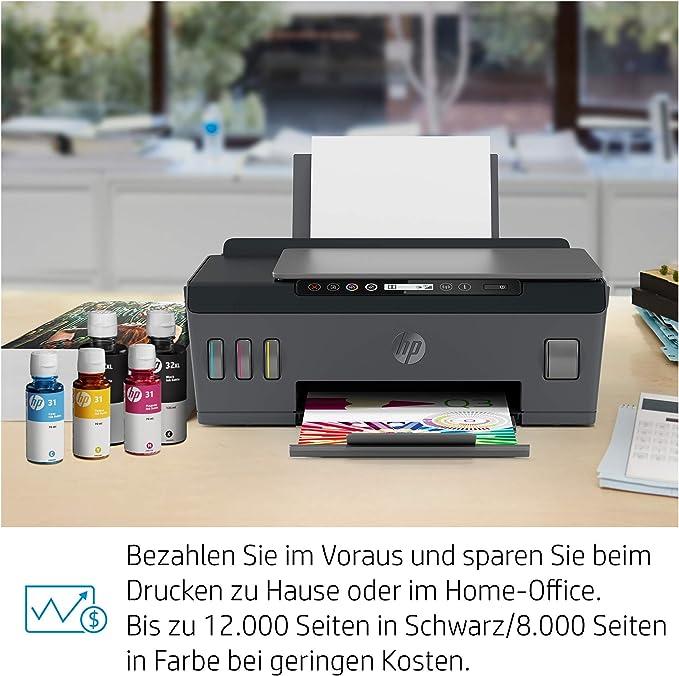 Hp Smart Tank Plus 555 Multifunktionsdrucker Computer Zubehör