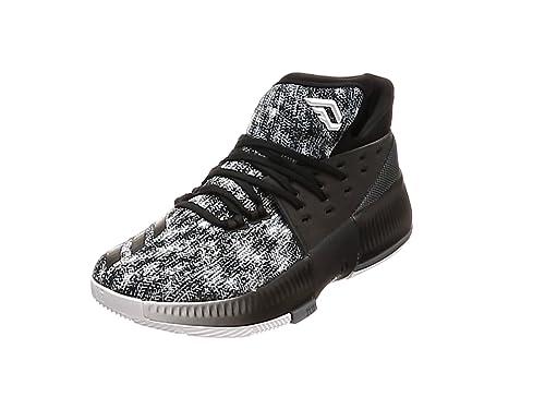 timeless design 3adf1 b4447 adidas Mens Dame 3 Fitness Shoes, (FtwblaEscarlMaruni), 7.5