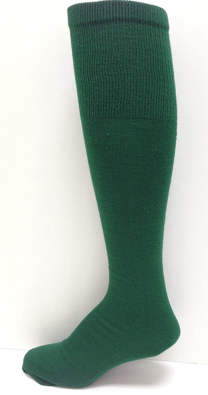 Medium Midweight Solid-Color Tube-sock Dark Green