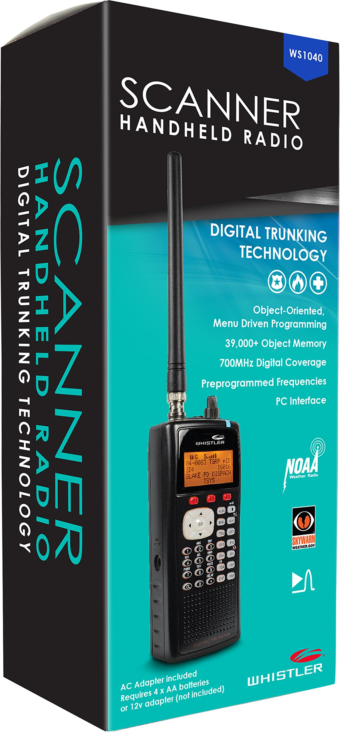 Whistler WS1040 Handheld Digital Scanner Radio by Whistler (Image #4)