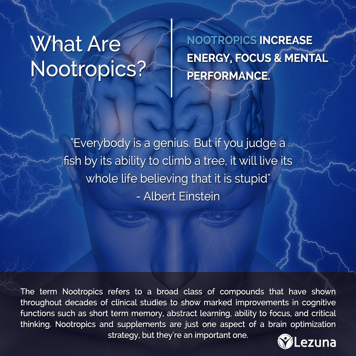 What are nootropics? Drugs to stimulate mental activity and improve memory 94