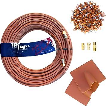 1STeca - Kit de Cable de extensión para Antena o Banda Ancha (Formato Virgen)