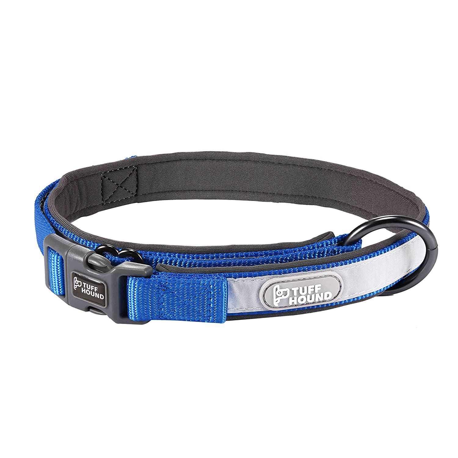 bluee XS bluee XS Warmcasa 3 colors Adjustable Nylon Pet Collar for Puppy Small Medium Large Dogs (XS, bluee)