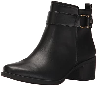 eb95115813b9 Anne Klein AK Sport Women s Jeannie Synthetic Ankle Boot Black 5 ...