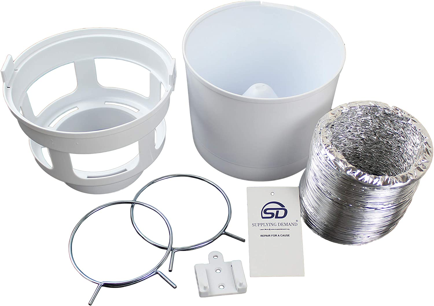 Supplying Demand 211 Indoor Dryer Vent Kit For Apartments Or Living Spaces With Poor Venting Compatible With Lambro