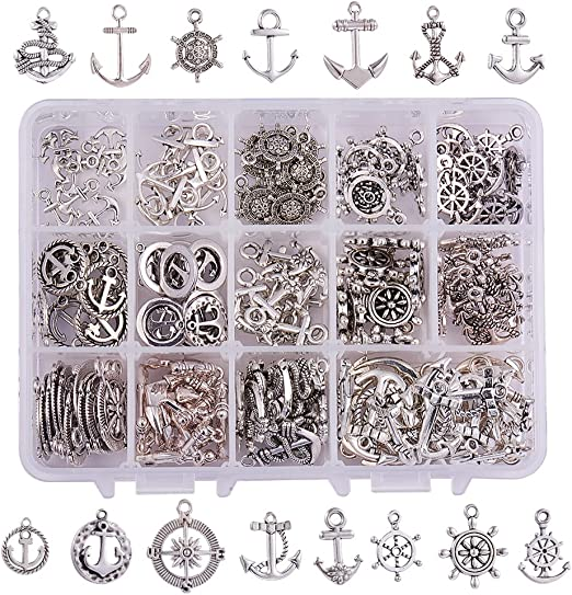 wine themed charms tibetan silver 15 pcs choose which ones you like USA seller