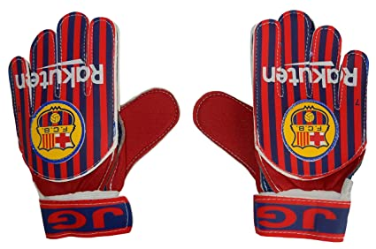 Amazon Com Soccer Goalkeeper Gloves For Kids Barcelona Sports
