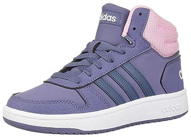 adidas Baby Boys Unisex Child Hoops 2.0: Amazon.co.uk: Shoes