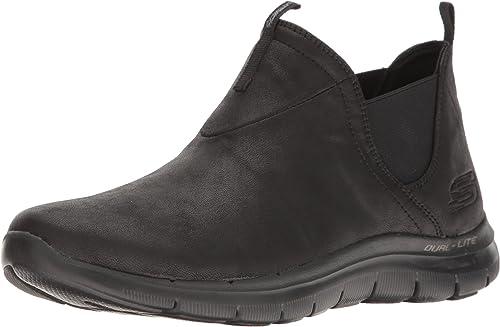 Skechers Damen Flex Appeal Sweet Spot Sneaker, Schwarz