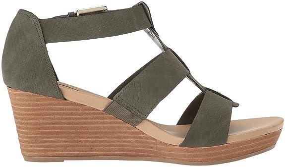f71a4c03c751 Amazon.com  Dr. Scholl s Shoes Women s Barton Wedge Sandal  Shoes