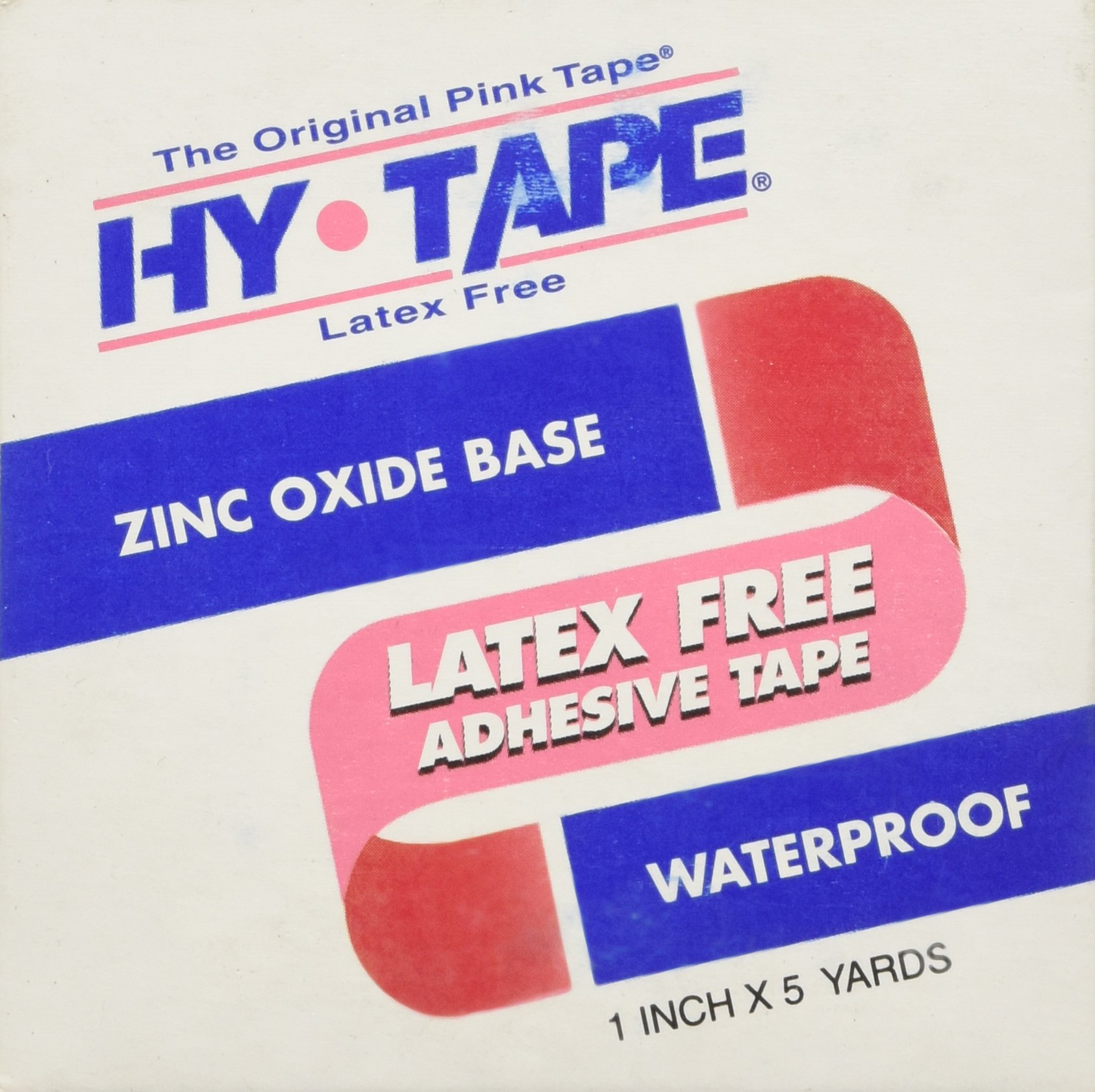 HY-TAPE The Original Pink Tape, 1 in. x 5 yds - Each.