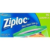 90-Count Ziploc Sandwich Bags