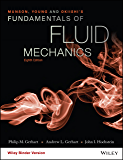 Munson, Young and Okiishi's Fundamentals of Fluid Mechanics, 8th Edition