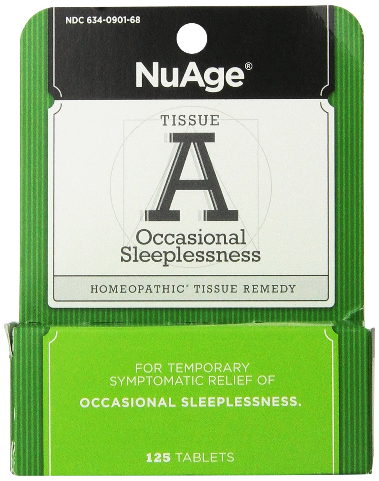 Nuage Labs Tissue A Insomnia Tablets, 125 Count