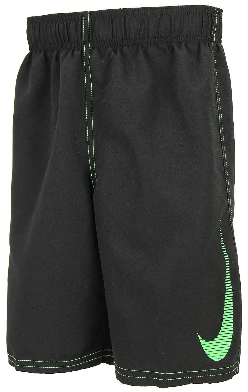 Small Nike Swim Boys 8 Volley Short Black