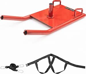 Valor Fitness Weight Sleds for Training - Prowler Sled, Speed Sled, Weight Sled, Workout Sled All with Sled Harness for Strength & Conditioning, Cross Training, and Sports Training