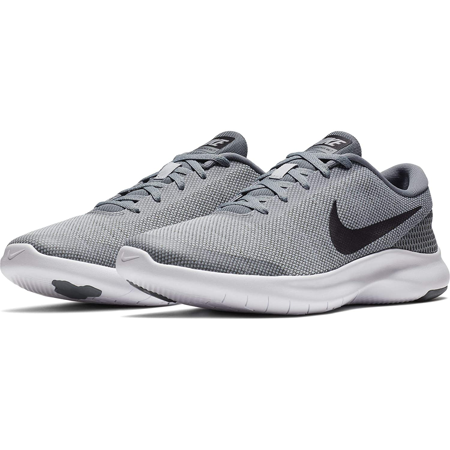 86129083bfb9 Nike Men s Grey Mesh Experience 7 Running Shoes - 8 UK  Buy Online at Low  Prices in India - Amazon.in