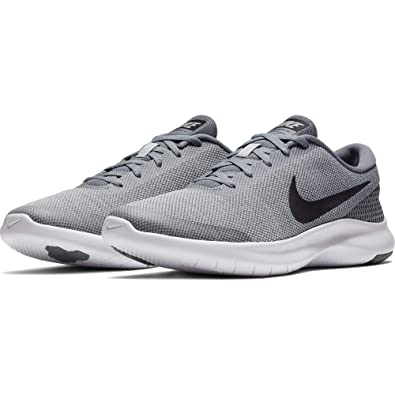 72575fa18d0a Nike Men s Grey Mesh Experience 7 Running Shoes - 8 UK  Buy Online at Low  Prices in India - Amazon.in