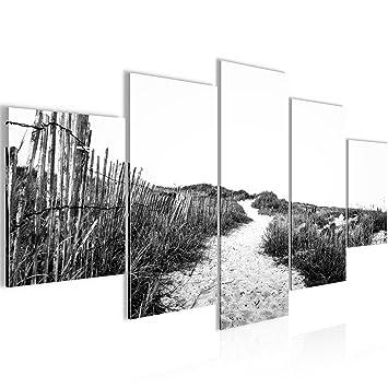Bild 200 x 100 cm - Strand Bilder- Vlies Leinwand - Deko für ...