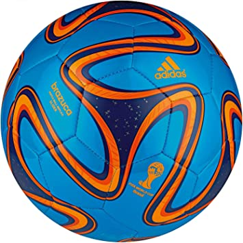adidas G73629-4 Brazuca Glider Blue-Orange - Balón de fútbol ...
