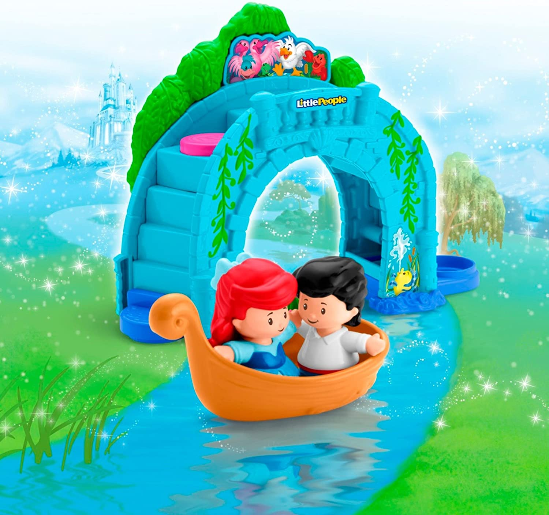 Ariel Vehicle Playset Fisher-Price Little People Disney Princess