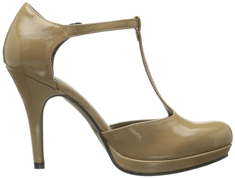 Tamaris 24428, Women Ballet Flats, Beige (Nude Patent 267), 6.5 UK (40 EU):  Amazon.co.uk: Shoes & Bags