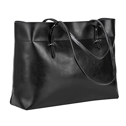 42dccc04fb39 S-ZONE Women s Vintage Genuine Leather Tote Shoulder Bag Handbag   Amazon.co.uk  Luggage