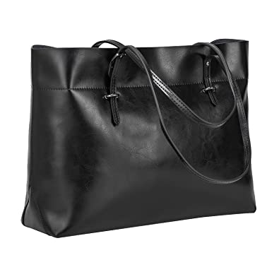 Amazon.com  S-ZONE Women s Vintage Genuine Leather Tote Shoulder Bag ... 64b25ac11ffb4