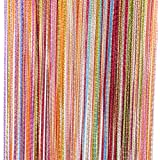Tangpan 7 Color Colorful Door String Thread Fringe Window Panel Room Divider String Curtain Cute Strip Tassel in Party Events