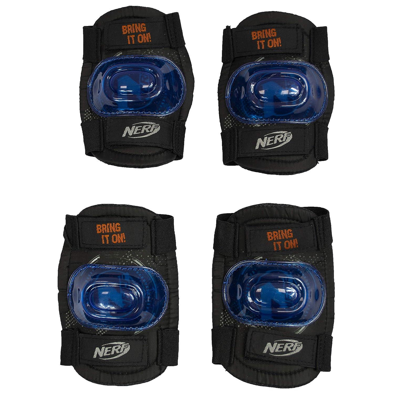 Flybar Nerf Nation マルチスポーツ膝パッド 肘パッド 安全セット  Small/Medium
