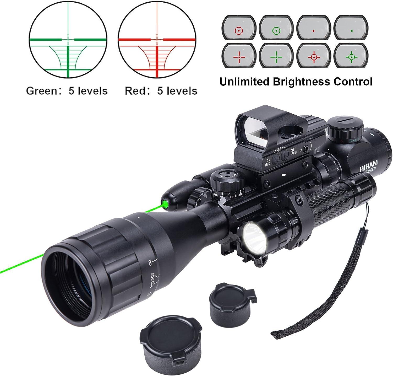 HIRAM 4-16x50 Riflescope