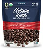 Artisan Kettle Organic Semisweet Chocolate Chips, 10 Ounce (Pack of 6)