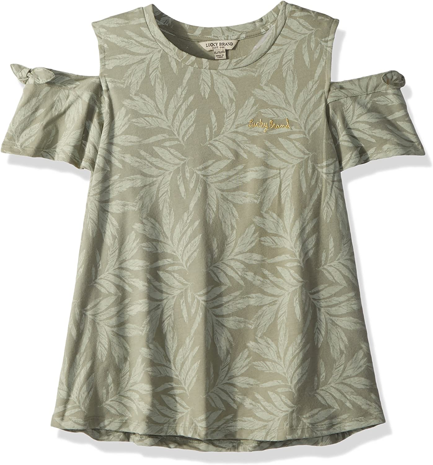 Lucky Brand Girls Short Sleeve Fashion Top