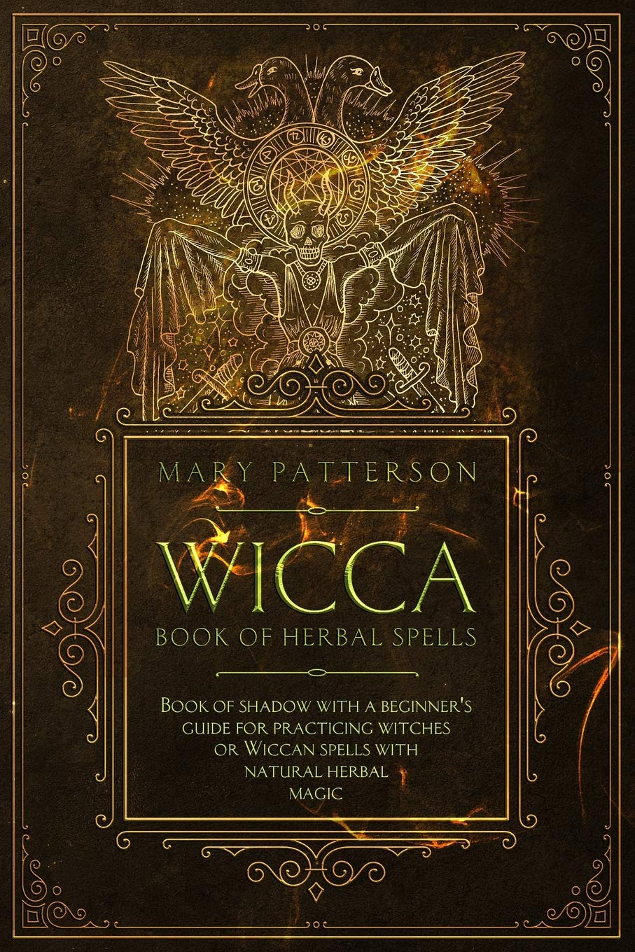 Wicca Book of Herbal Spells: Book of Shadows with a