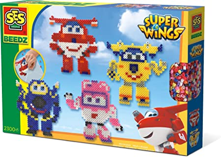 SES Creative – superwings Perlas Plancha – Super Wings – Beedz, 06294: Amazon.es: Juguetes y juegos