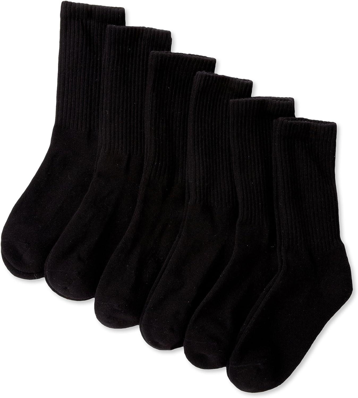 Pack of 6 Jefferies Socks Girls Half-Cushion Seamless Socks