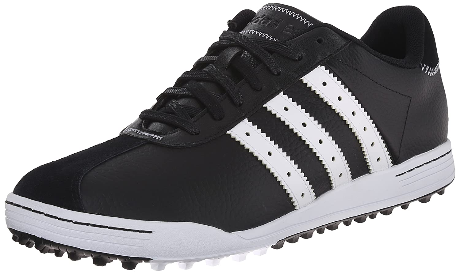 reputable site 98a18 97ff0 adidas Mens Adicross Classic Golf Shoe, BlackWhite, 9.5 M US  Amazon.co.uk Sports  Outdoors